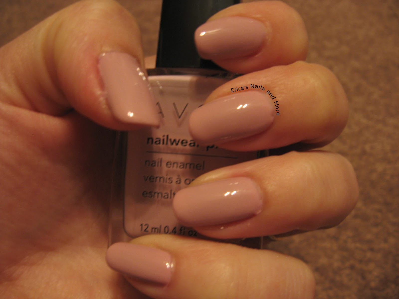 NOTD: Avon Cotton Candy | Erica\'s Nails and More